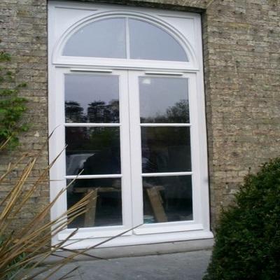 Rear French Doors