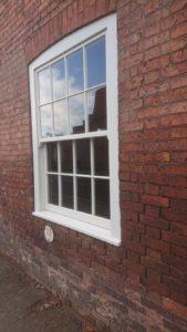 sliding sash timber window nottingham